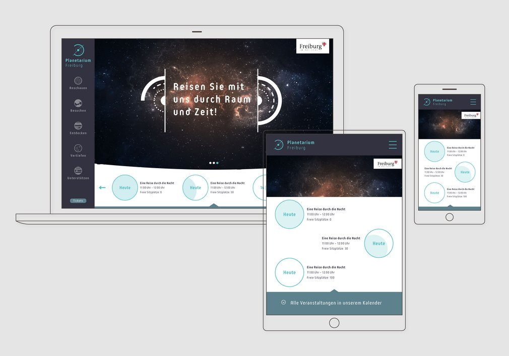 Responsive Design: auf allen Device optimal bedienbares Userinterface